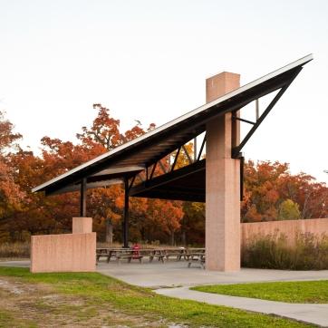 Lakeside Nature Center Shelter