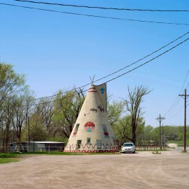 Landscape with Teepee Shape, Lawrence, from Kanssouri 2016