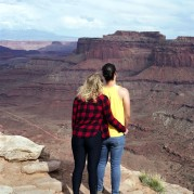 Couple, Canyonlands National Park, from Utah part 2 : Moab, 2017