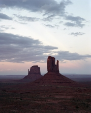 East and West Mitten Buttes, from Utah part 3 : Monument Valley, 2017
